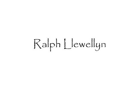 Autor Ralph Llewellyn